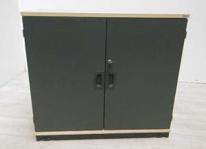 Armoire basse porte battante kinnarps for Porte chambre forte occasion
