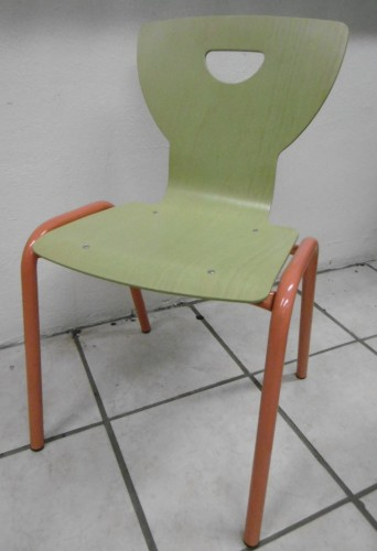 CHAISE ÉMERGENCE VERT ANIS TAILLE 4