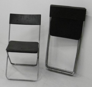 LOT DE 25 CHAISES PLIANTES