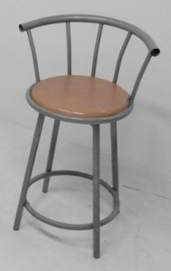 TABOURET ASSISE TOURNANTE
