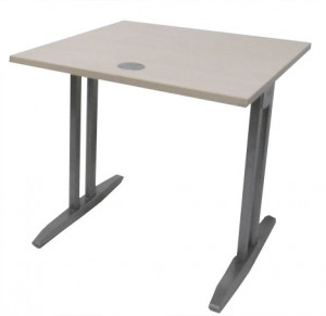 TABLE ÉRABLE POLYVALENTE 80X80