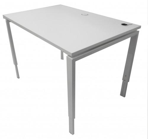 TABLE DE TRAVAIL BLANCHE ELECTRIFIABLE