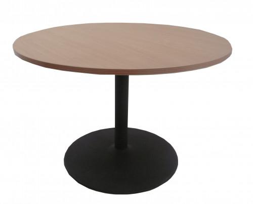 TABLE RONDE HÊTRE GRIS ANTHRACITE DIAMÈTRE 110