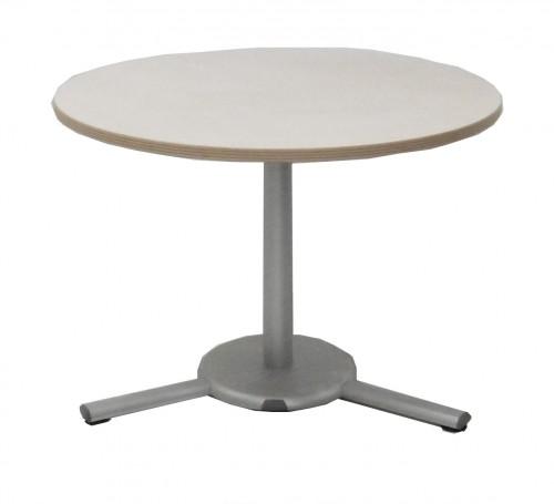TABLE RONDE PLATEAU BOULEAU DIAMÈTRE 100