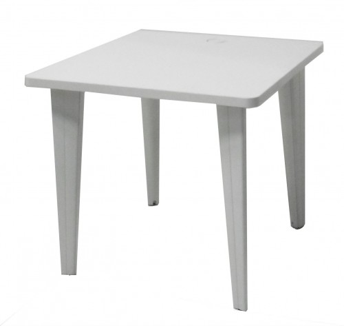 TABLE INFORMATIQUE BLANCHE 80X80