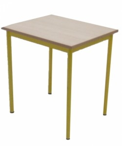 TABLE SCOLAIRE 4 PIEDS