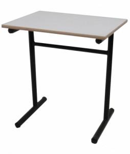 TABLE SCOLAIRE NOIRE TAILLE 6 70X50