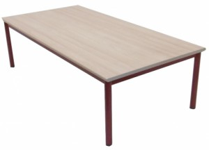 TABLE MATERNELLE FRAMBOISE TAILLE 1 160X80