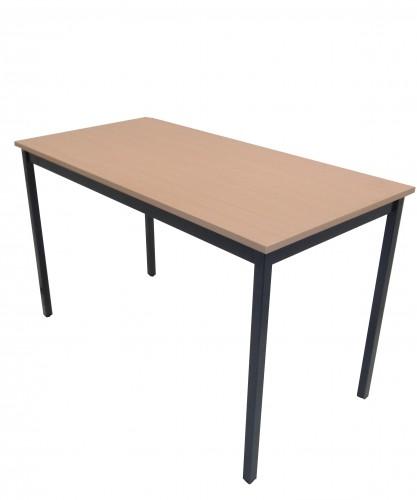TABLE HÊTRE 4 PIEDS 120X60