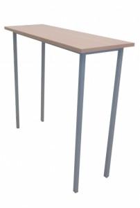 TABLE HÊTRE MANGE DEBOUT 120X45