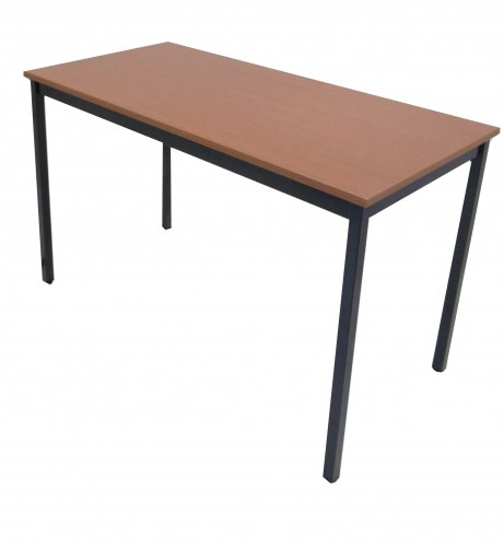 TABLE MERISIER 4 PIEDS 120X60