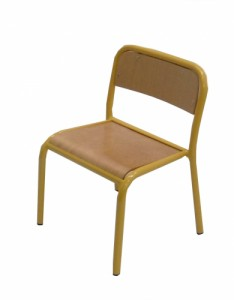 CHAISE SCOLAIRE JAUNE TAILLE 2