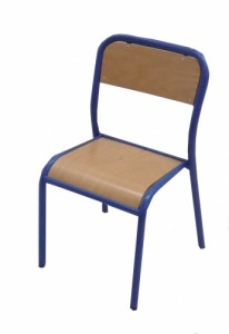 CHAISE SCOLAIRE BLEUE TAILLE 3