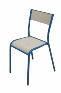 CHAISE SCOLAIRE BLEUE TAILLE 6