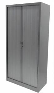 ARMOIRE HAUTE RIDEAUX GRISE 90x180