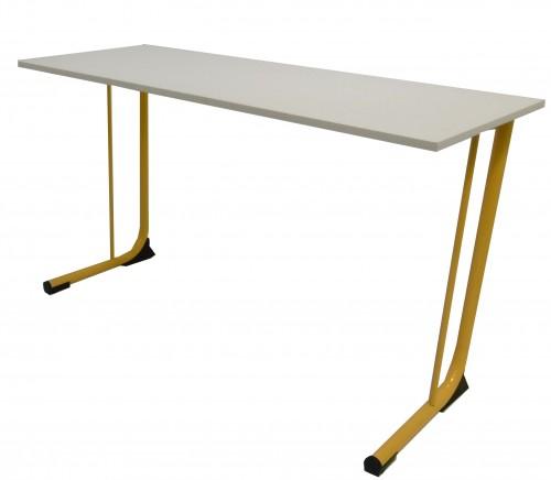 TABLE AVEC RENFORT TAGE - 130X50 - H.76