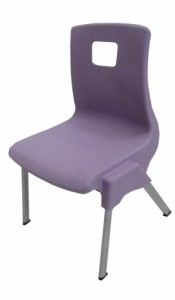 CHAISE SCOLAIRE LAVANDE TAILLE 3