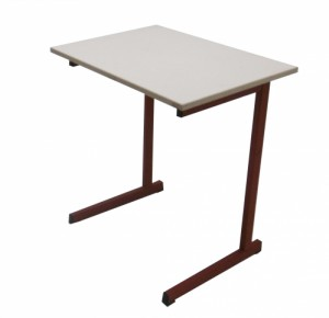 TABLE SCOLAIRE ROUGE TAILLE 6 70X50