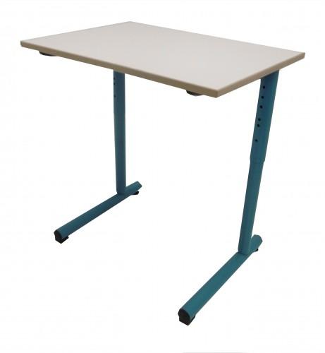 TABLE SCOLAIRE VERT D'EAU RÉGLABLE 70x50