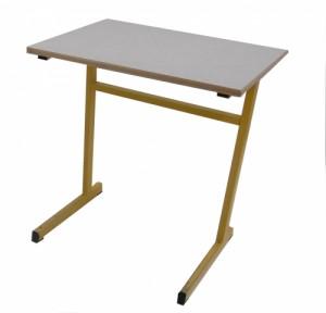 TABLE SCOLAIRE JAUNE HAUTEUR 74 CM