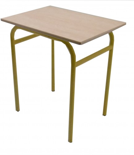 TABLE SCOLAIRE 4 PIEDS - 70X50 - H.75