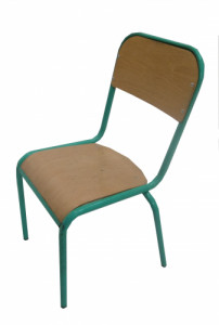 CHAISE SCOLAIRE VERTE TAILLE 3