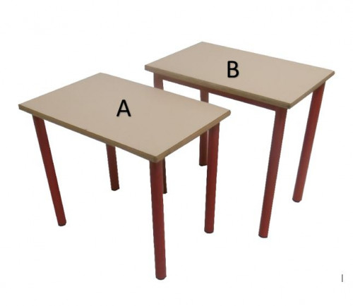 TABLE 4 PIEDS 60x40 - MATERNELLE