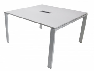 TABLE INFORMATIQUE BLANCHE 124x124