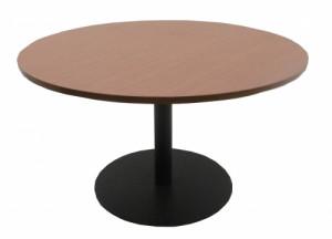 TABLE RONDE MERISIER / GRISE DIAMÈTRE 120