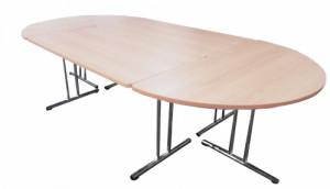 TABLE DE RÉUNION 4 ÉLÉMENTS