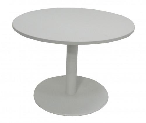 TABLE RONDE BLANCHE DIAMÈTRE 100