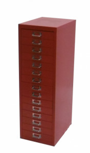 MULTIDRAWER ROUGE 15 TIROIRS