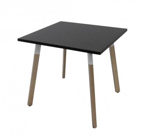 TABLE 80x80 4 PIEDS - HAUTEUR 72 CM