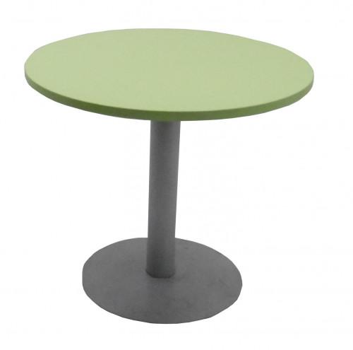 TABLE RONDE VERT ANIS / GRIS - DIAMÈTRE 80