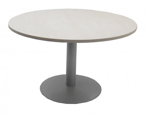 TABLE RONDE ÉRABLE / GRIS - DIAMÈTRE 120