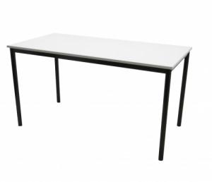 TABLE 4 PIEDS BLANC / NOIR 140X70