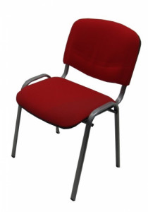 CHAISE ISO TISSU ROUGE