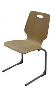 CHAISE COQUE BOIS - TAILLE 6
