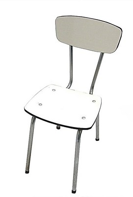 CHAISE 4 PIEDS FORMICA - H.45