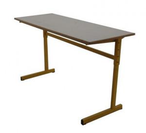 TABLE SCOLAIRE RÉGLABLE - 130X50