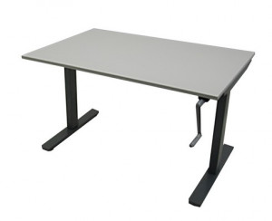 TABLE 120X80 - RÉGLABLE PAR MANIVELLE
