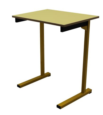 TABLE SCOLAIRE 70X50 FIXE