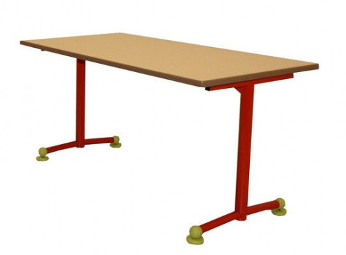 TABLE SCOLAIRE MATERNELLE - 120X60 - H.59