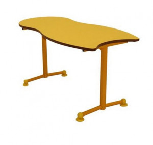TABLE SCOLAIRE MATERNELLE - 118.5X60 - H.59