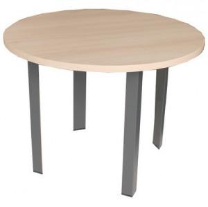 TABLE RONDE FRÊNE BLANC