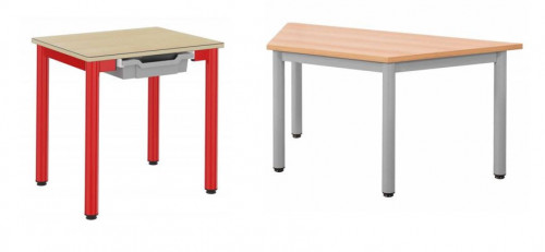 TABLE MATERNELLE BAMBOU