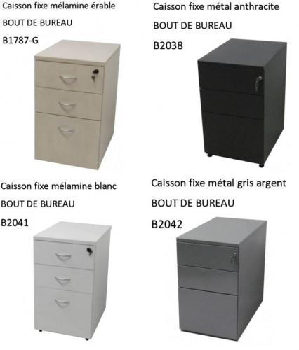CAISSON BOUT DE BUREAU ET GRANDE PROFONDEUR