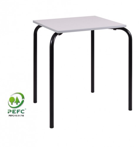 TABLE CARY NOIRE TAILLE 6 60X50