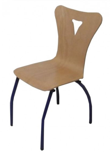 CHAISE D'ATTENTE BLEUE TAILLE 6