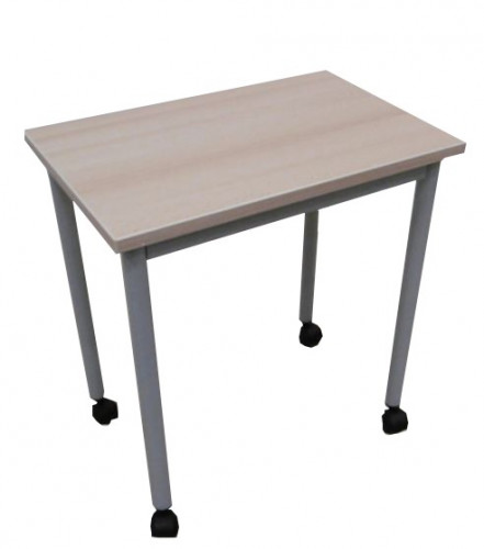 TABLE DESSERTE 60X40 A ROULETTES